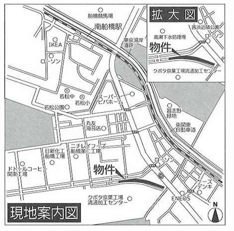 高瀬営業所MAP